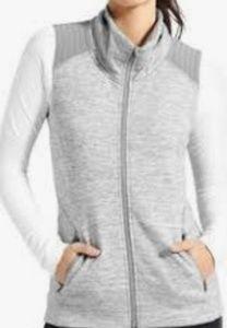 Athleta Women Sleeveless Sweat Vest